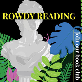 Join Our Book Club! Rowdy Reading: Q-Edition.