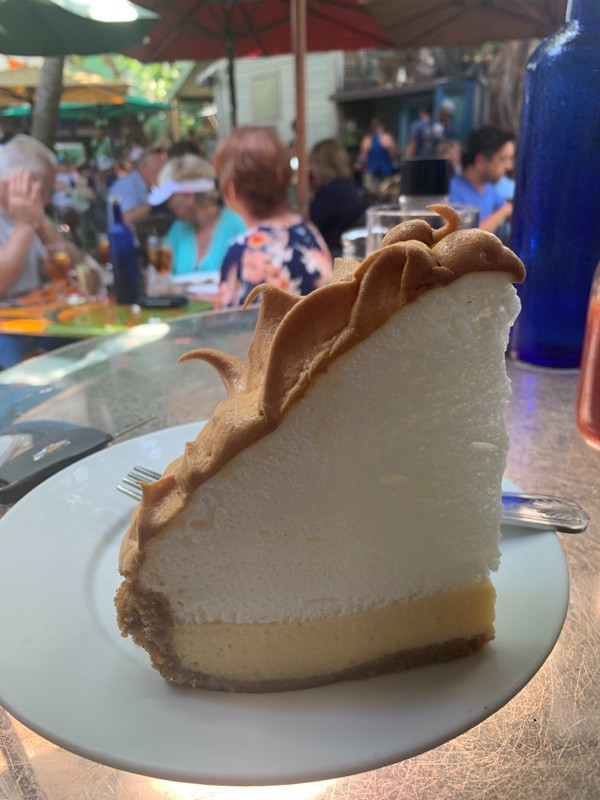 Key Lime Pie Blue Heaven Key West
