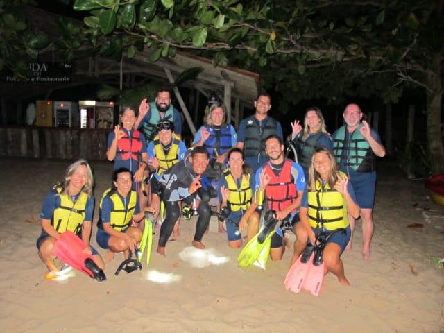 Mergulho Noturno na Bahia