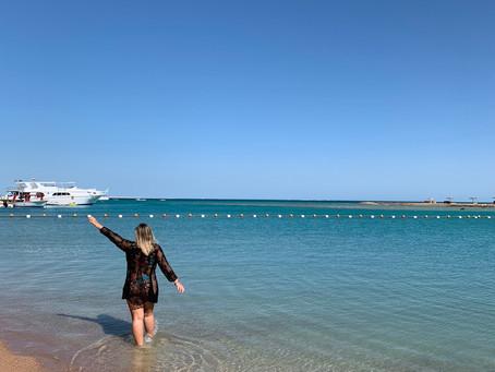 Praia no Egito: Hurghada