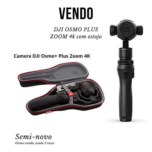 Câmera 4k com Estabilizador DJI Osmo Zoom+