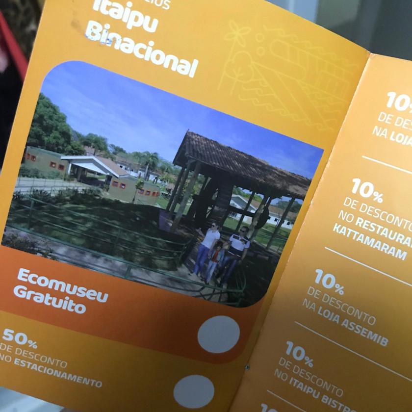 Passaporte 3 Maravilhas - Foz do Iguaçu