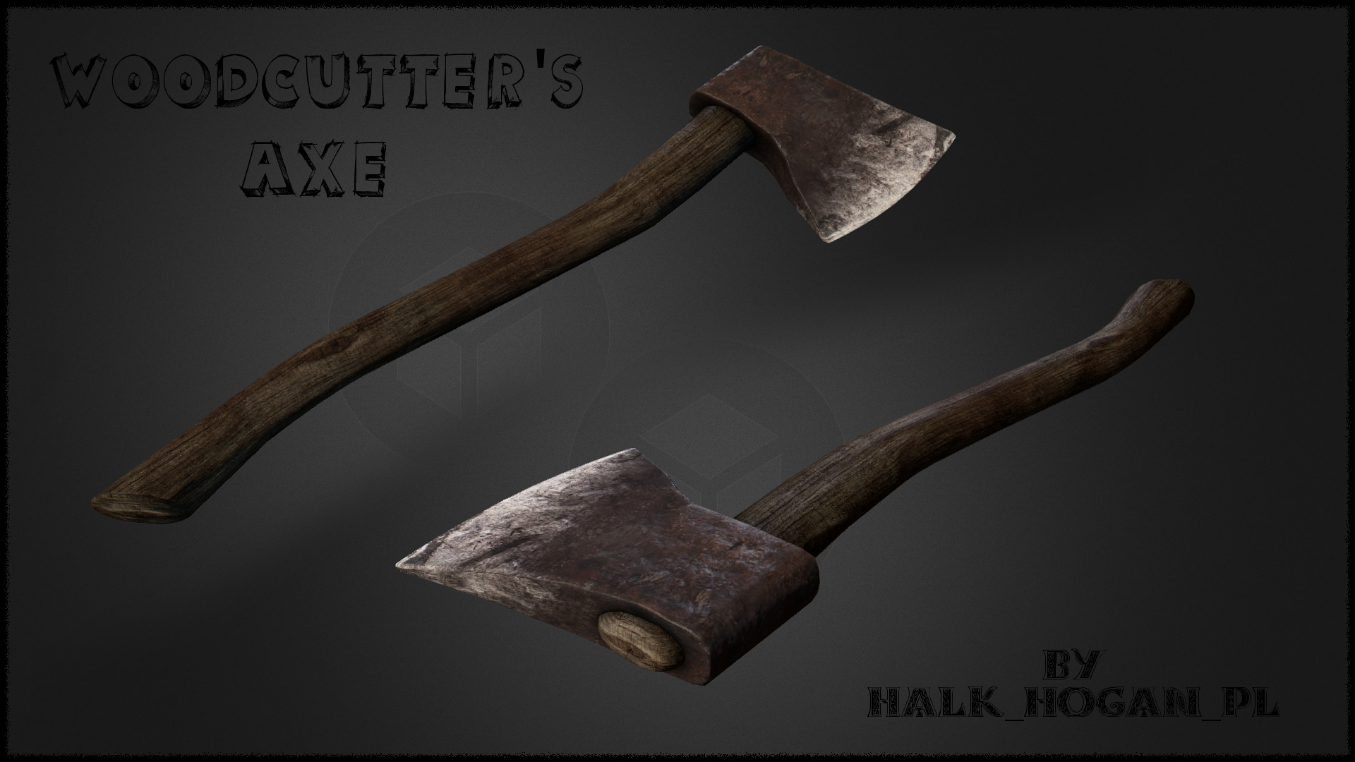 Realistic HD Woodcutter's Axe