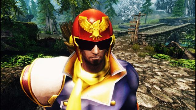 Captain Falcon's Outfit