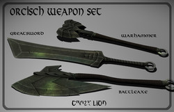 Orcish Weapon Set