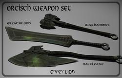 Orcish Weapon Set
