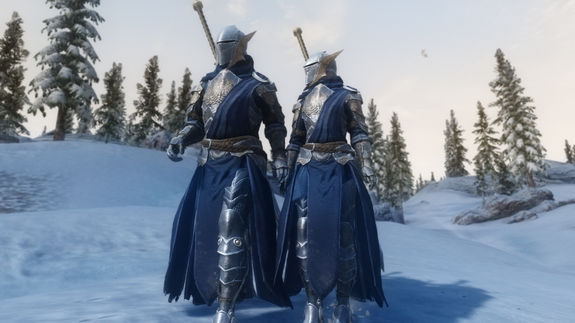 Resplendent Armor and Greatsword