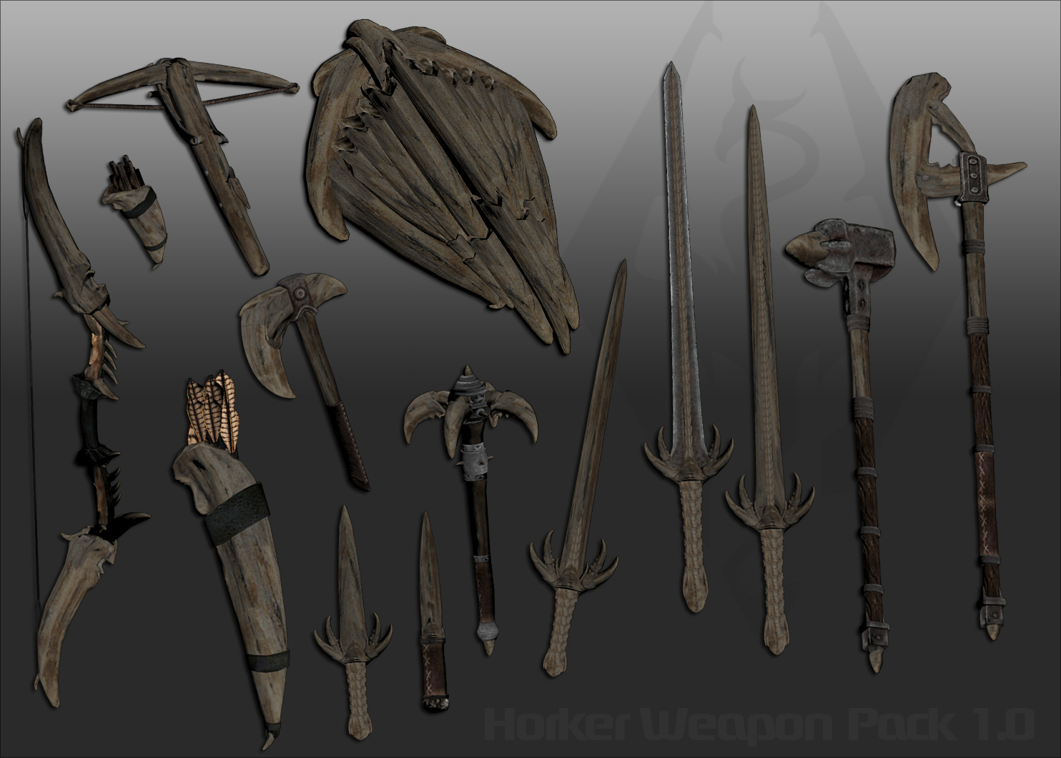 Ghosu - Horker Weapon Pack