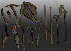 Ghosu - Horker Weapon Pack