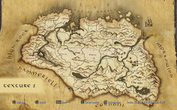 Warbug's Paper World Map
