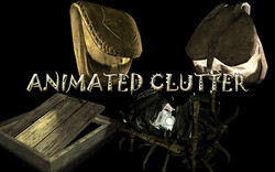 Animated clutter