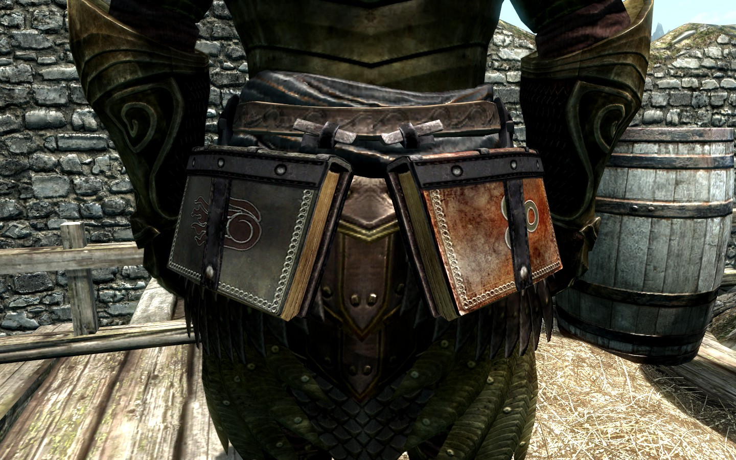 Equippable Tomes - Belt-Worn Books