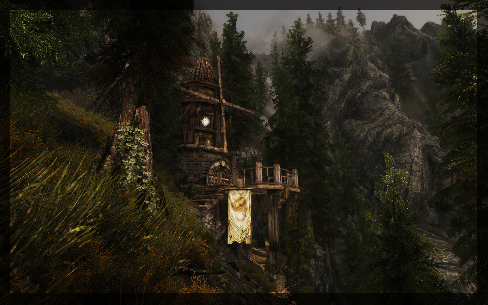 Forgotten Windmill