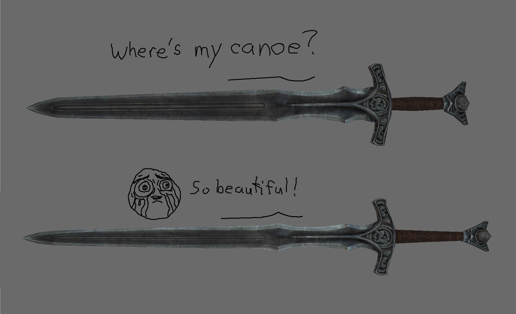 Better Shaped Weapons