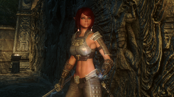 Female Blades Light Armor