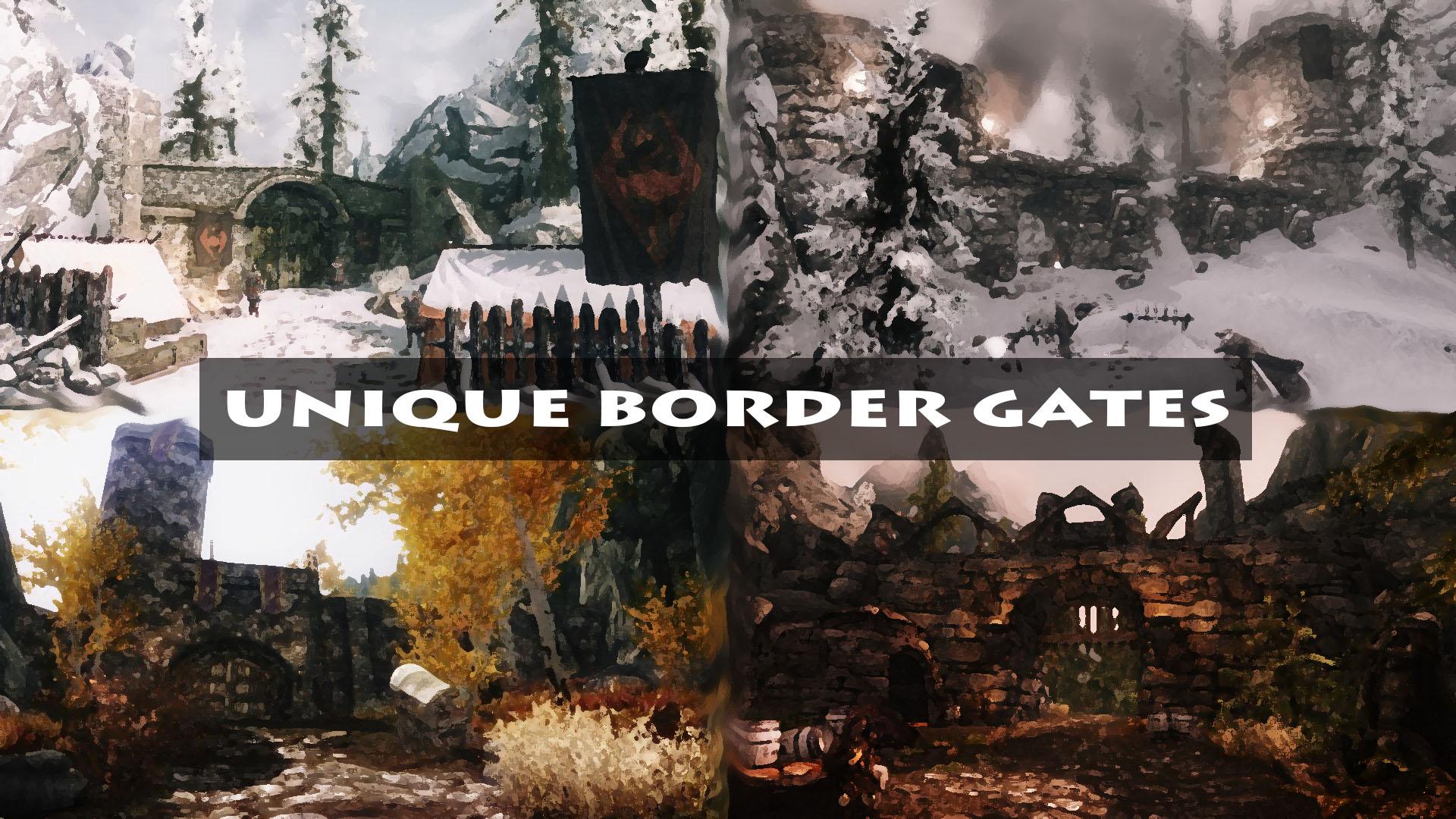 Unique Border Gates