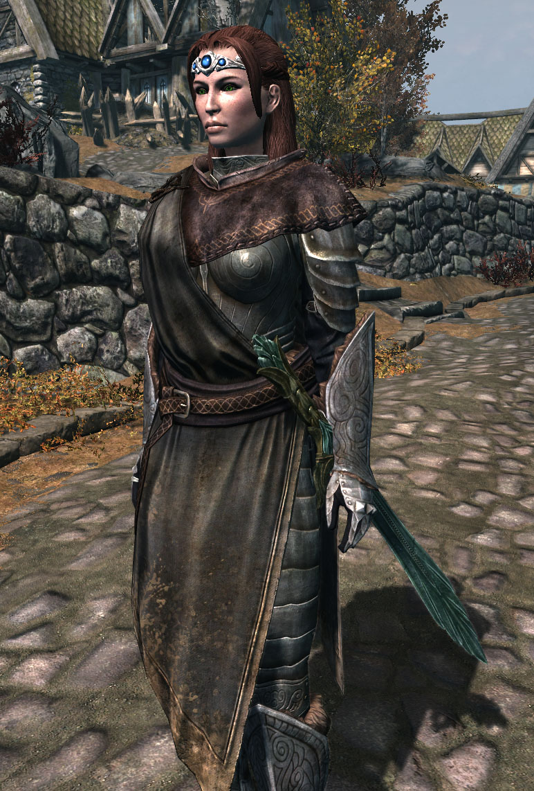 Robed Steel Plate Armor