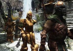 Markarth Guard Is Automaton
