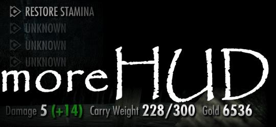 moreHUD