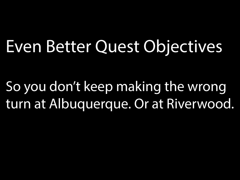 Even Better Quest Objectives