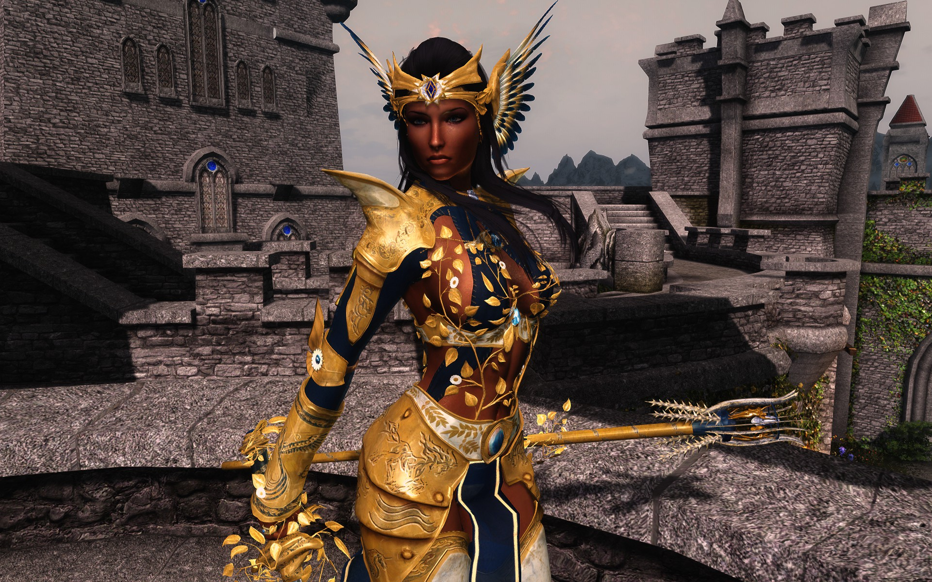 Golden Sorceress Armor