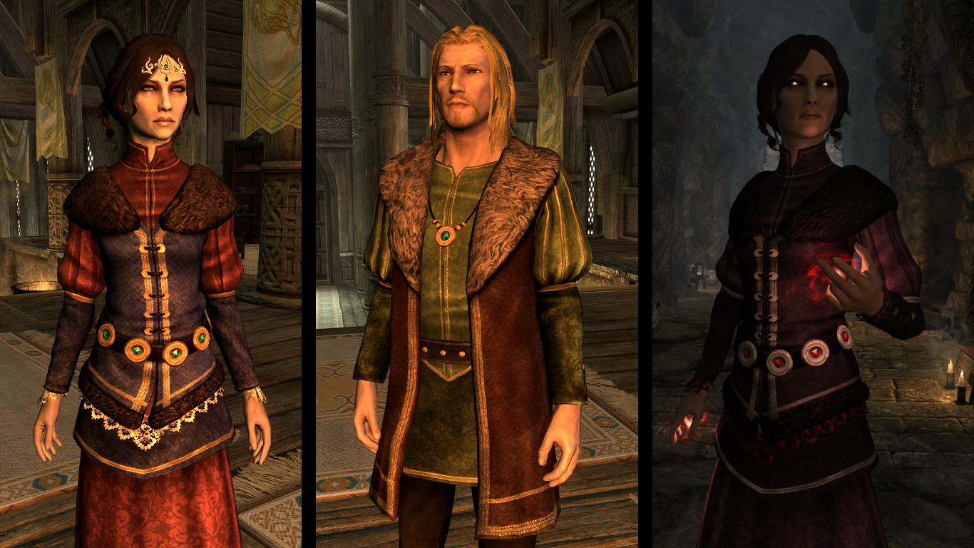 Colovian Noble Clothes