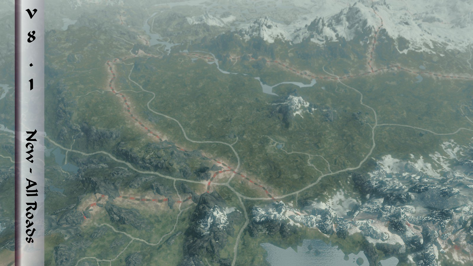 World Map - Skyrim Hold Borders