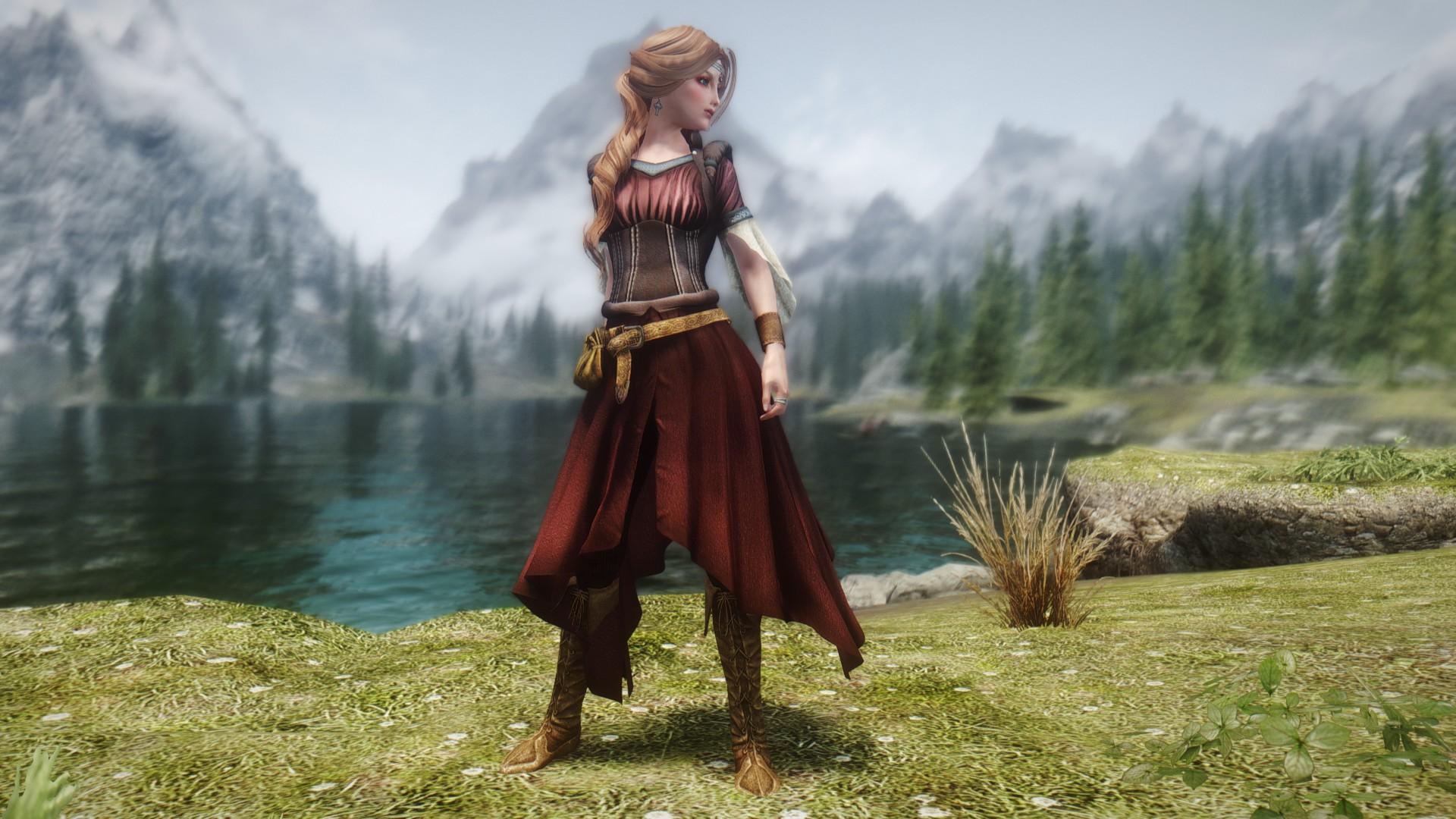 VS Medieval Archeress Dress