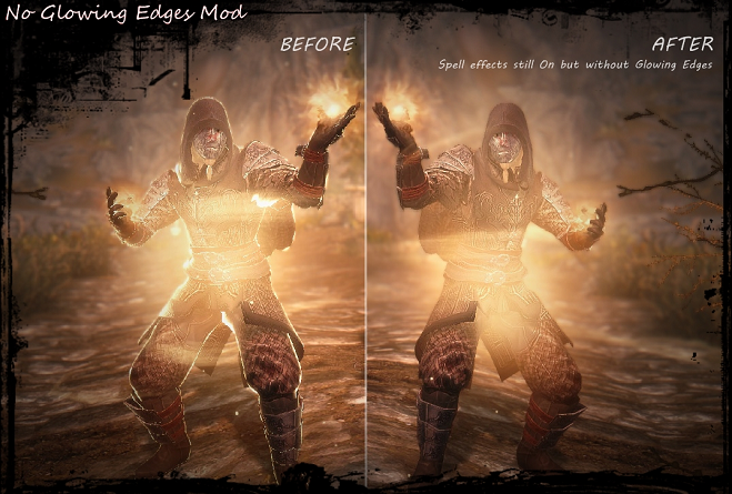 No More Glowing Edges Mod