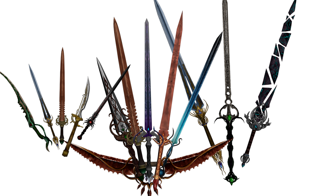 Gizmodian Oblivion Weapons