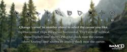 KenMOD - Alternate Skyrim cursors