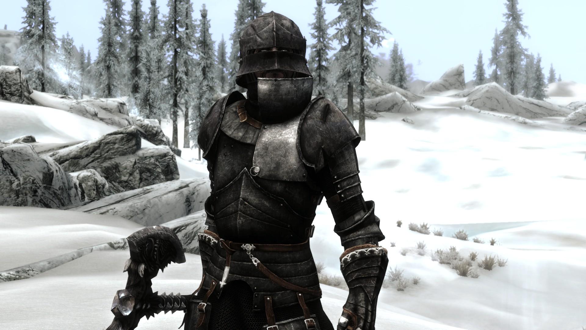 Dark knight armor