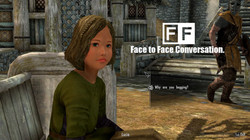 Face to face conversation
