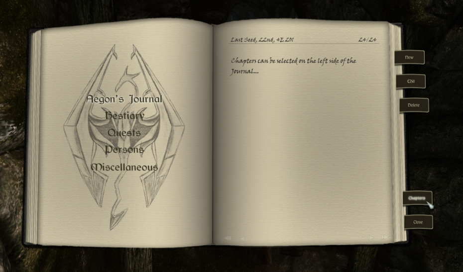 Take Notes - Journal of the Dragonborn