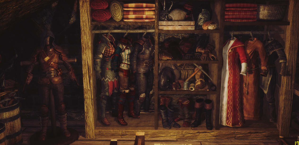 Thief player home in Riften Canal