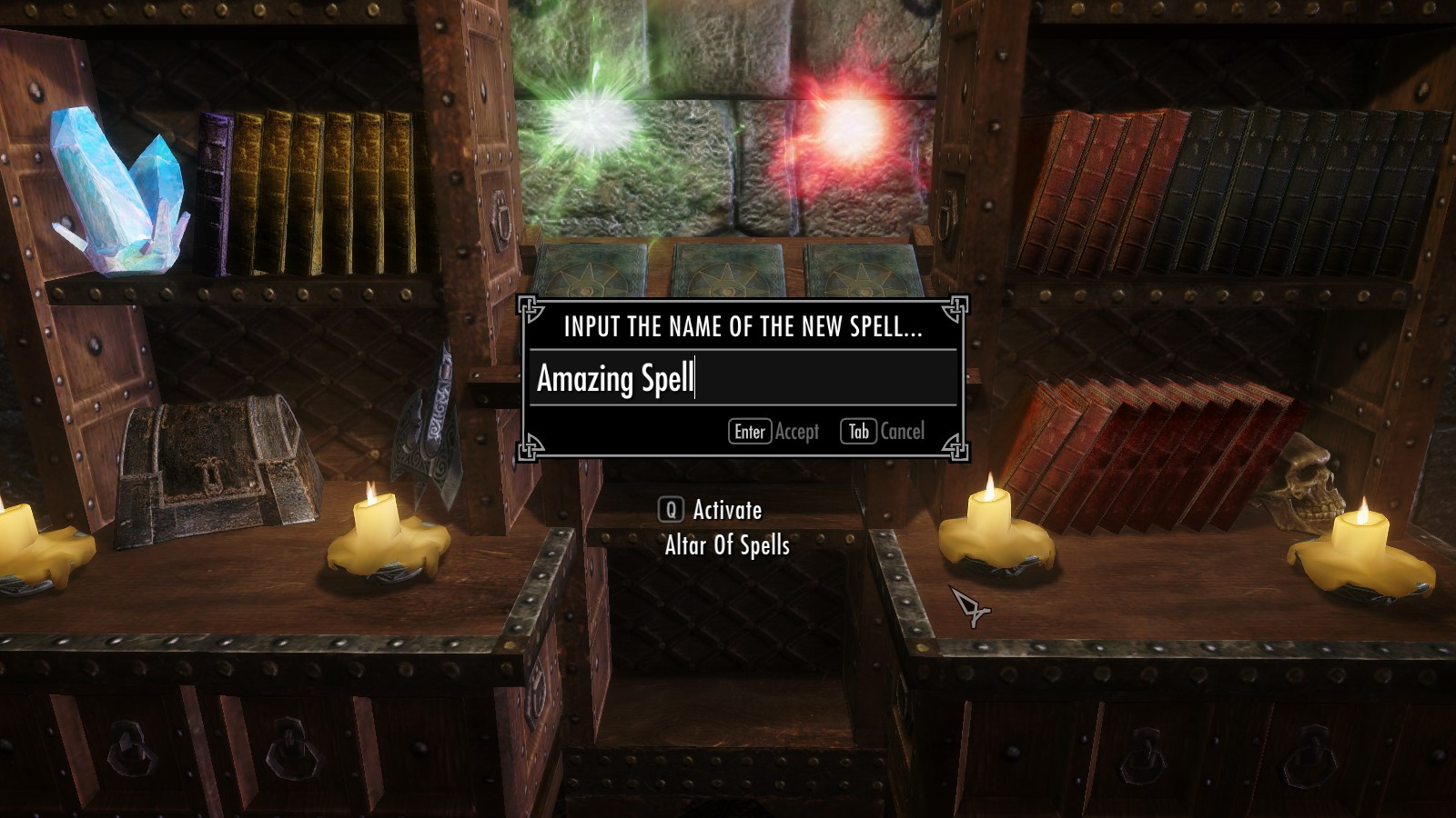 Spell Crafting for Skyrim