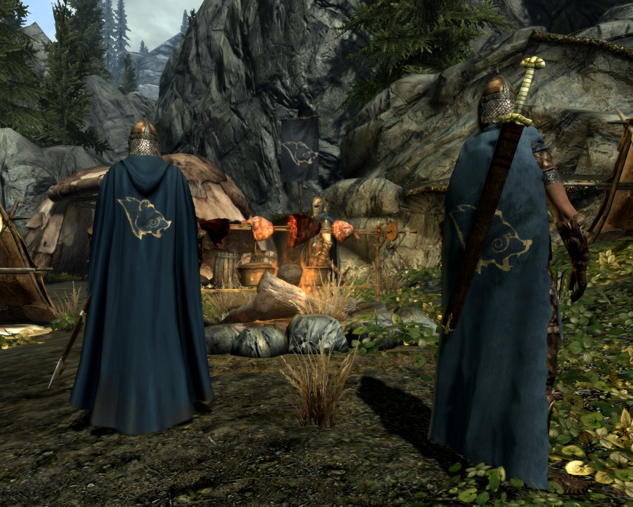 Cloaks of Skyrim