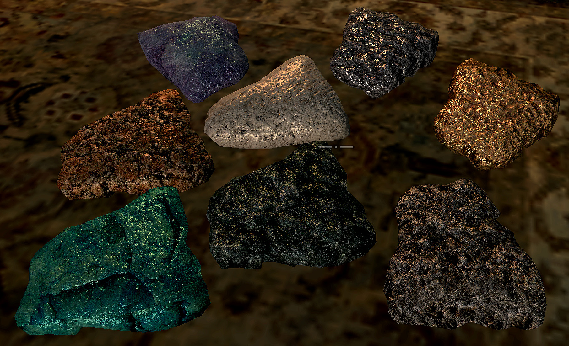 HD Ore and Ingots