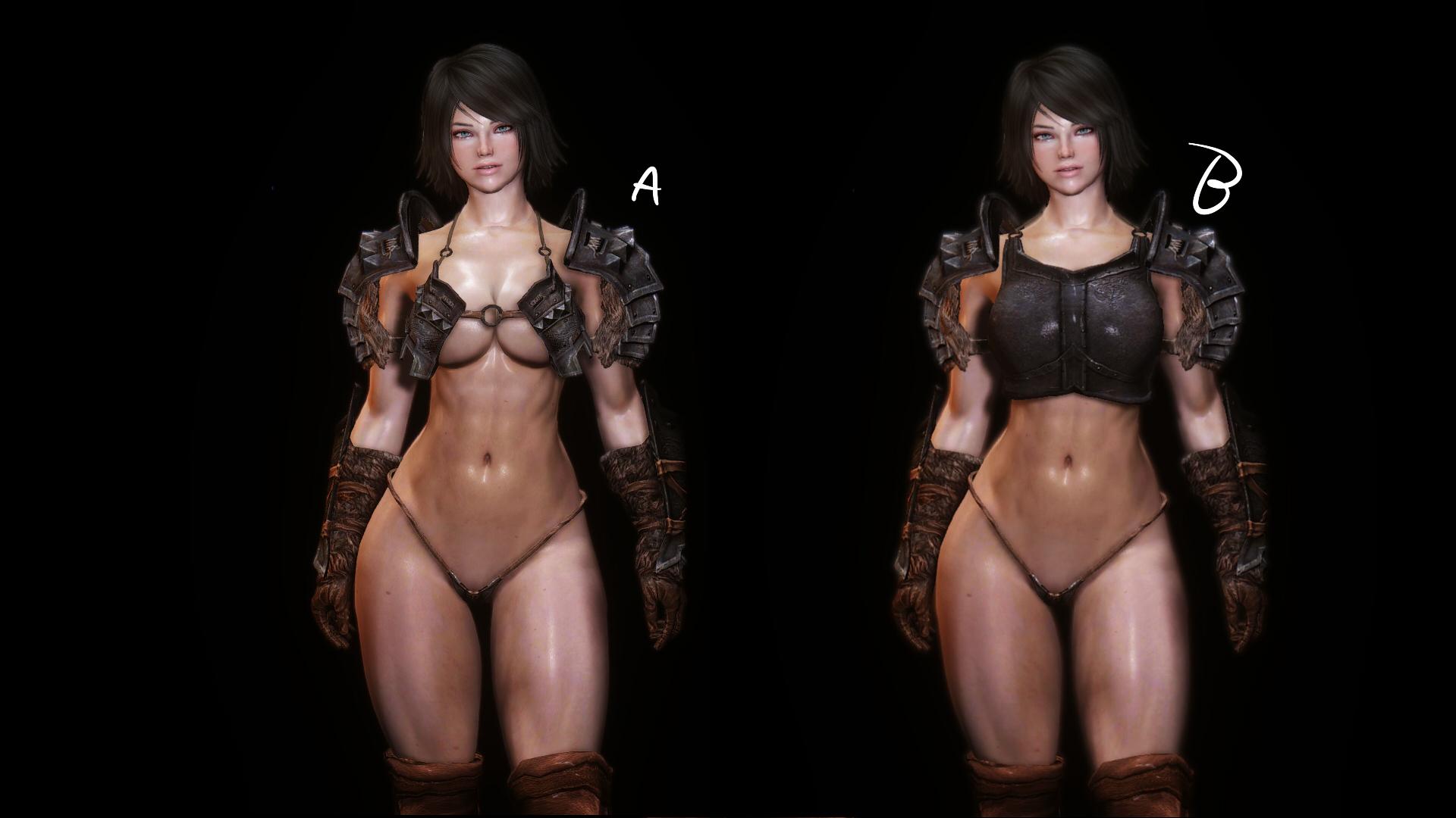 Banded Iron Bikini Armor
