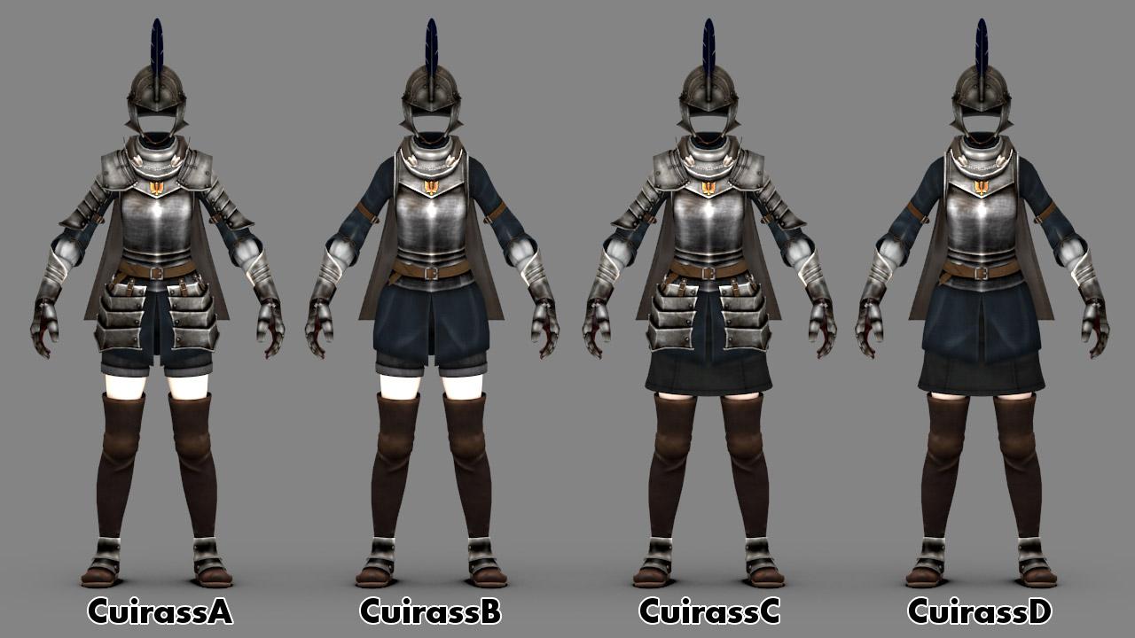 Berserk Mule Armor