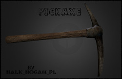 Realistic HD PickAxe