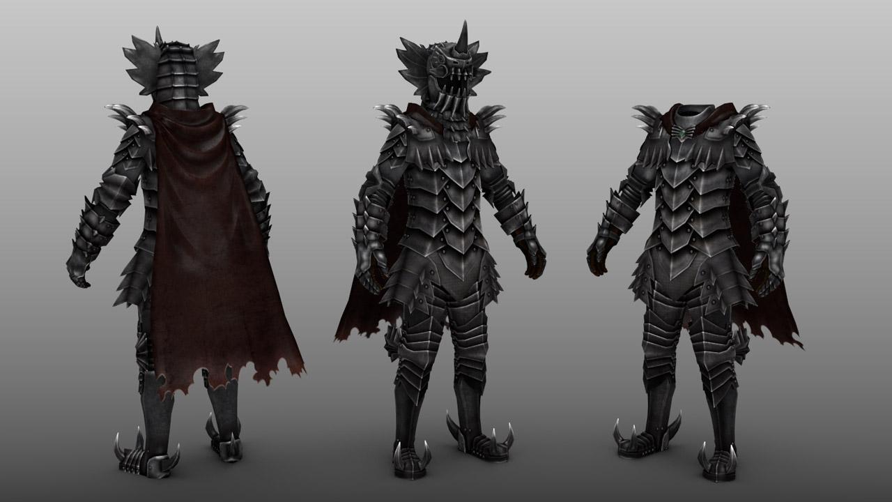 Berserk Grunberd Armor