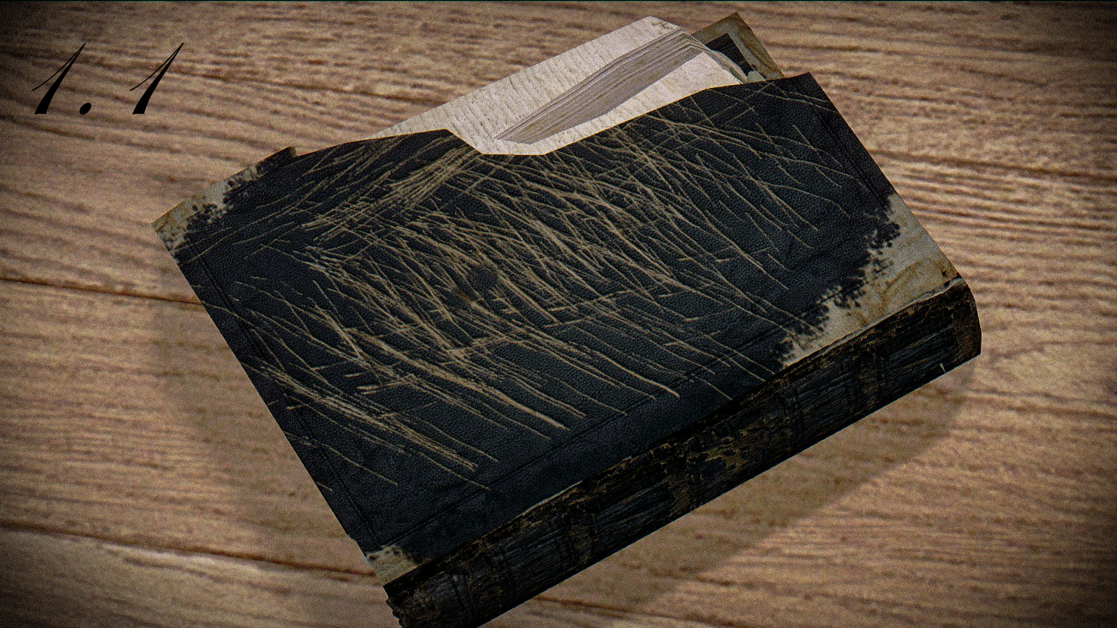 HD Ruined Book Retexture