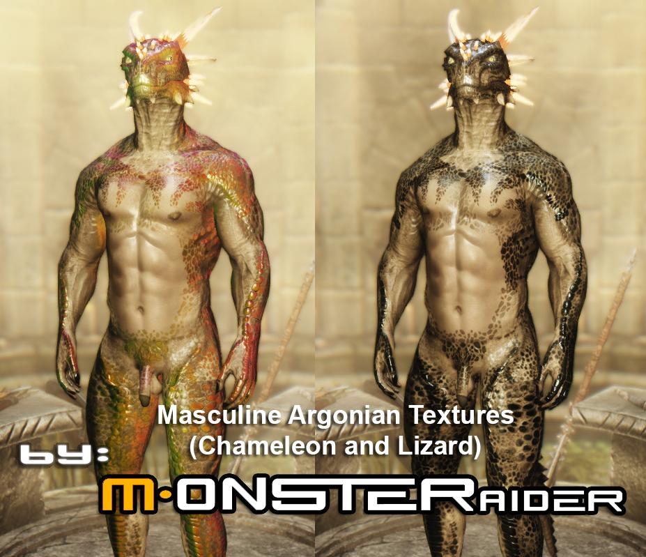 Masculine Argonian Textures