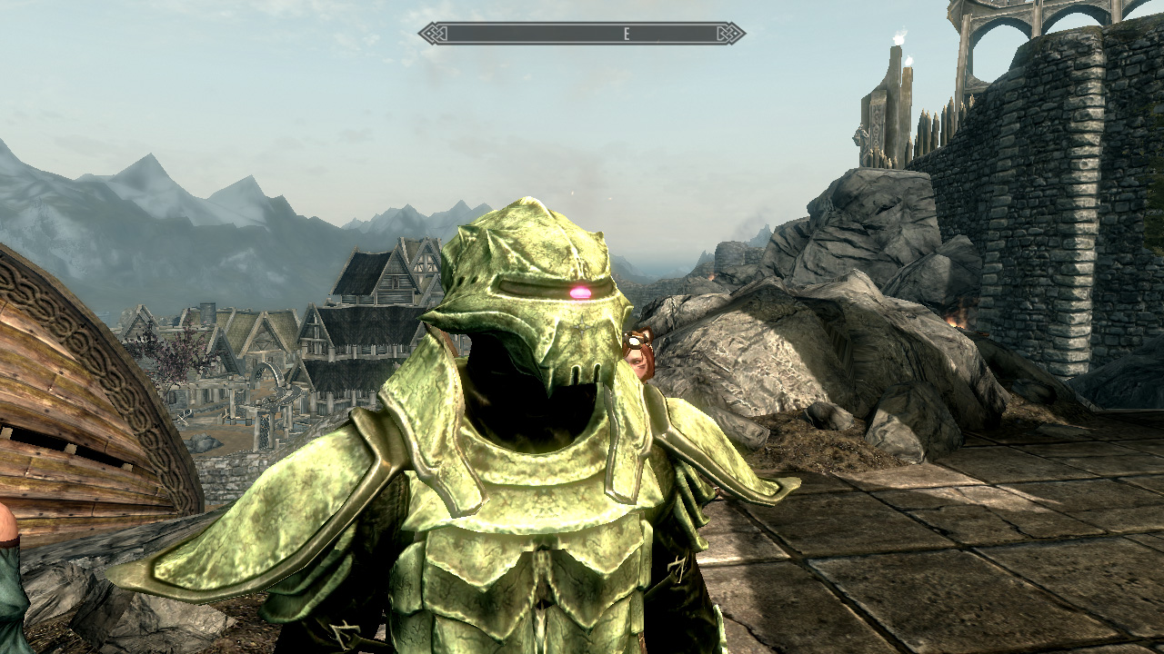 Zaku Green Bonemold Armor