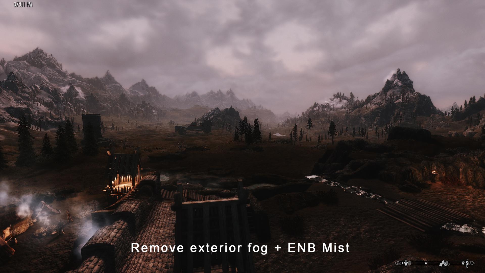 Remove Exterior Fog
