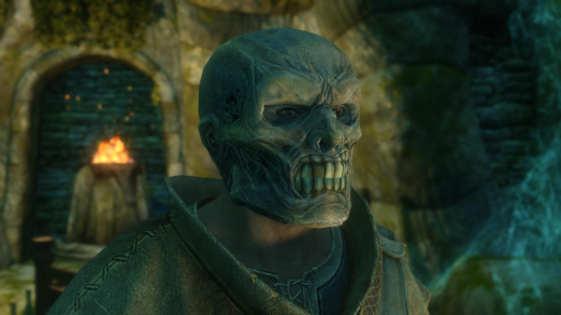Draugr Mask