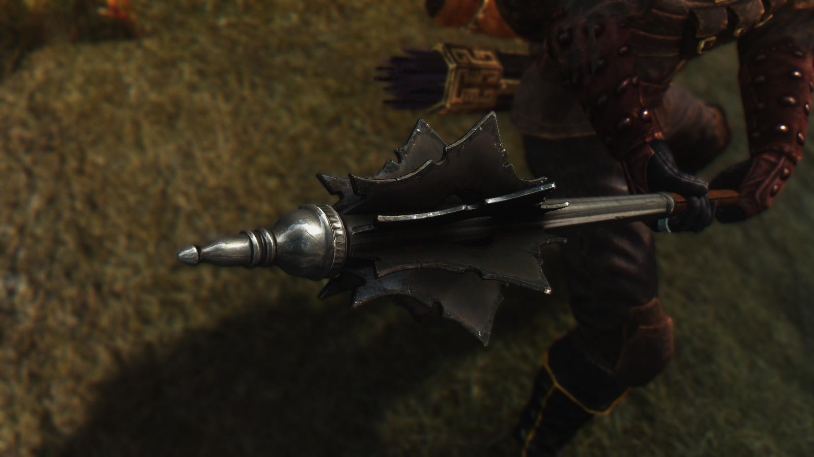 Flanged Warhammer