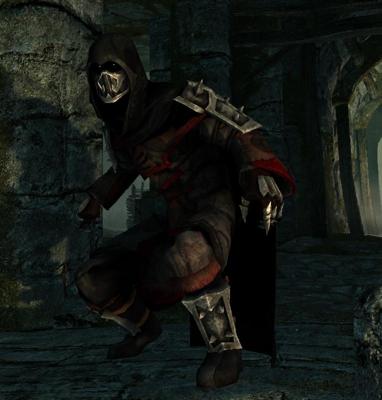 Alternate Ancient Shrouded Armor