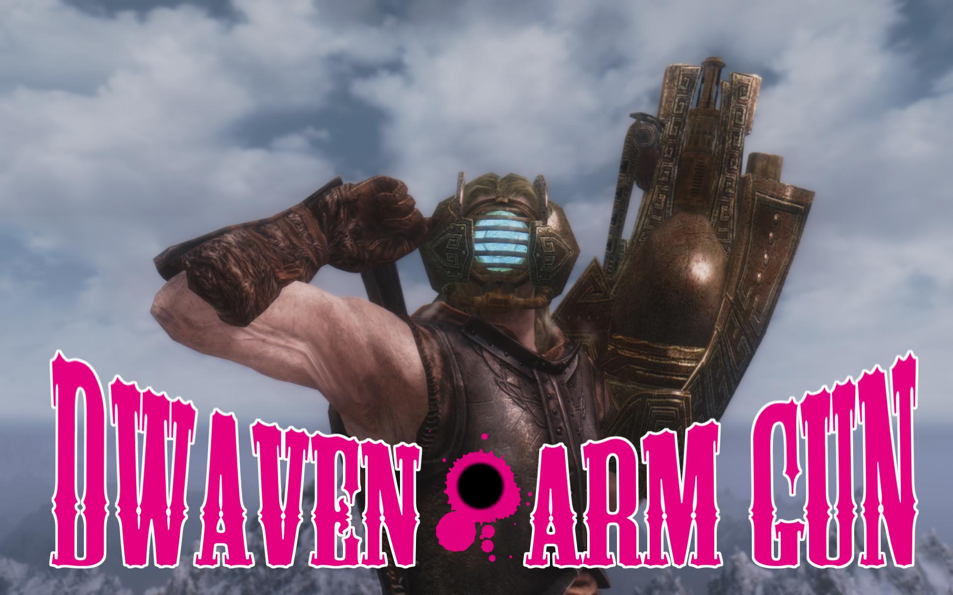 Dwarven arm gun